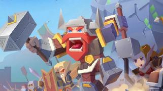 极致烧脑 乐高版魔兽对战网页游戏《剑与魔法》试玩