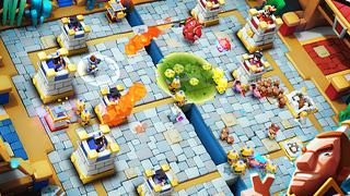 3D版皇室战争立体开战《天庭战争》塔防试玩